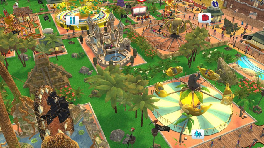 RollerCoaster Tycoon Adventures Review - Screenshot 4 of 4
