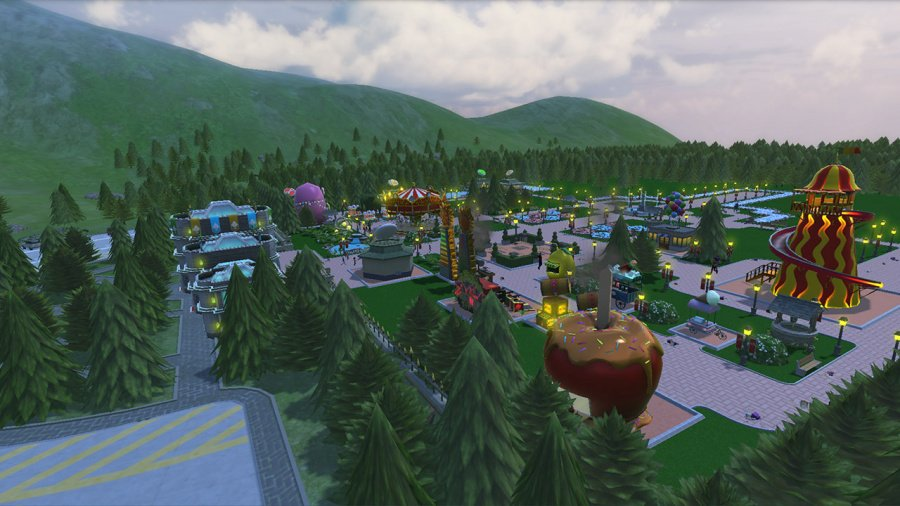 RollerCoaster Tycoon Adventures Review - Screenshot 1 of 4