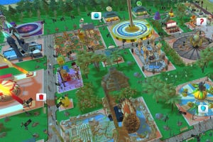 RollerCoaster Tycoon Adventures Screenshot