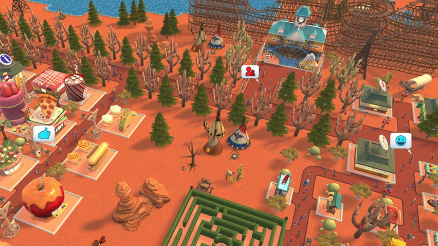 RollerCoaster Tycoon Adventures Review - Screenshot 2 of 4