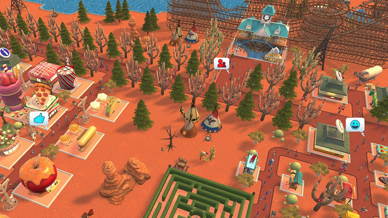 Roller Coaster Tycoon 2 All Maps