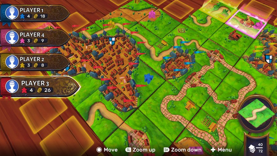 Carcassonne Review - Screenshot 1 of 4