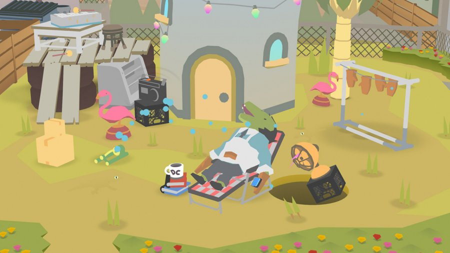Donut County Review - Screenshot 5 of 5