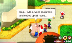 Mario & Luigi: Bowser's Inside Story + Bowser Jr.'s Journey Review - Screenshot 7 of 8
