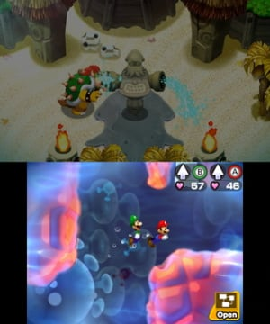 Mario & Luigi: Bowser's Inside Story + Bowser Jr.'s Journey Review - Screenshot 3 of 8