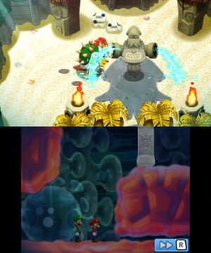 Mario & Luigi: Bowser's Inside Story + Bowser Jr.'s Journey Review - Screenshot 1 of 9