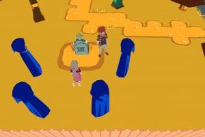 YIIK: A Postmodern RPG Screenshot