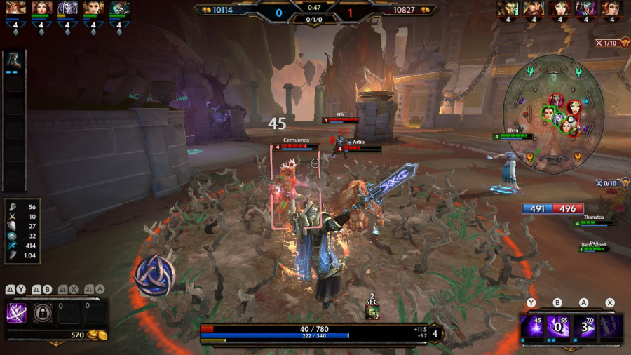 SMITE Review - Screenshot 1 of 4