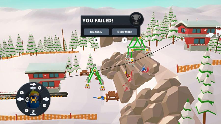 When Ski Lifts Go Wrong Review - Screenshot 2 of 4