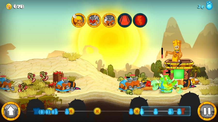 Swords & Soldiers Review - Screenshot 2 of 4