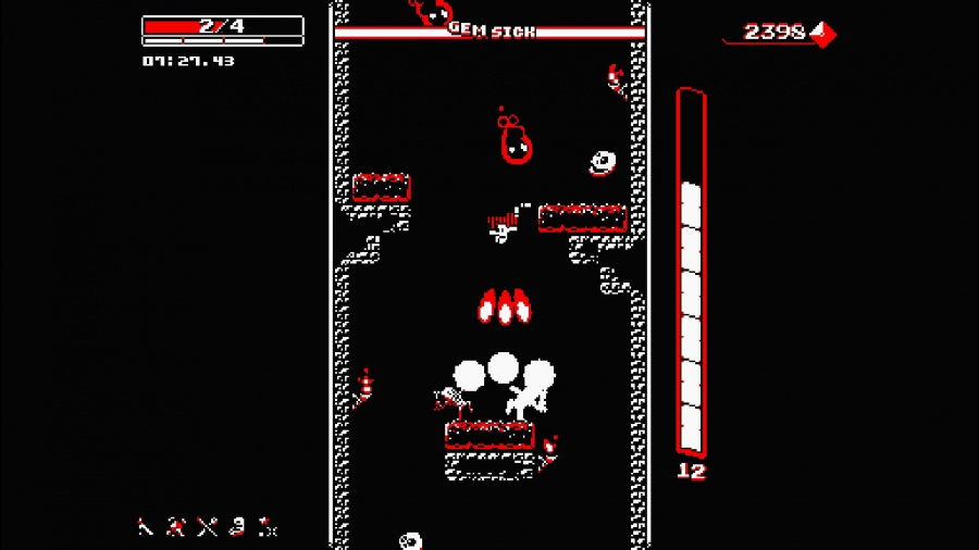 Downwell Review - Screenshot 2 of 4