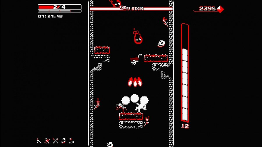 Downwell Review - Screenshot 4 of 5