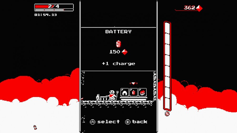 Downwell Review - Screenshot 5 of 5
