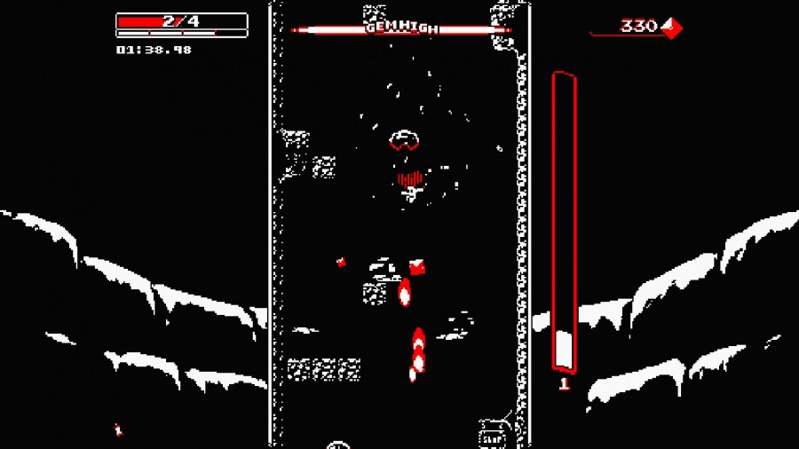 Downwell Review - Screenshot 3 of 4