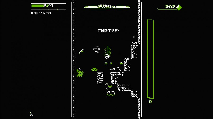 Downwell Review - Screenshot 1 of 4