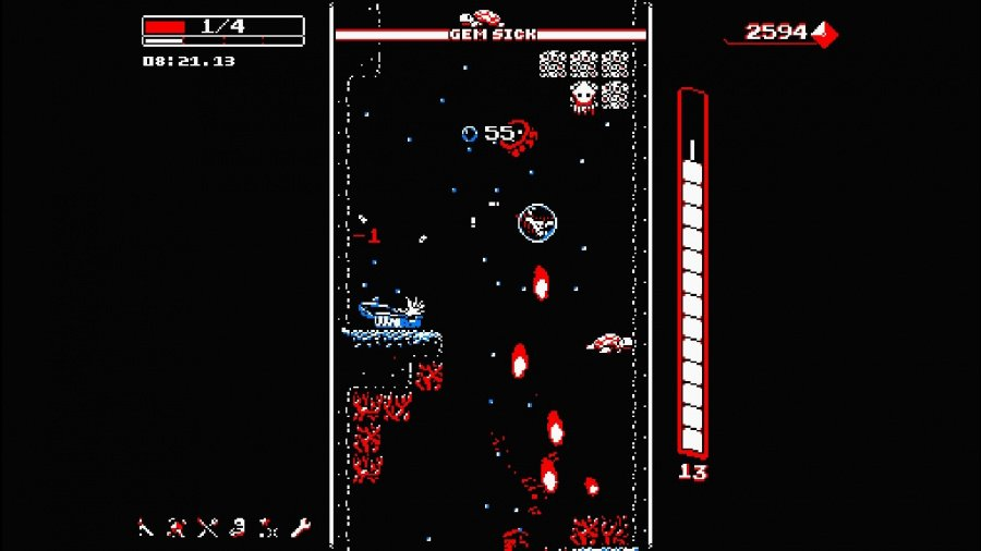 Downwell Review - Screenshot 2 of 5