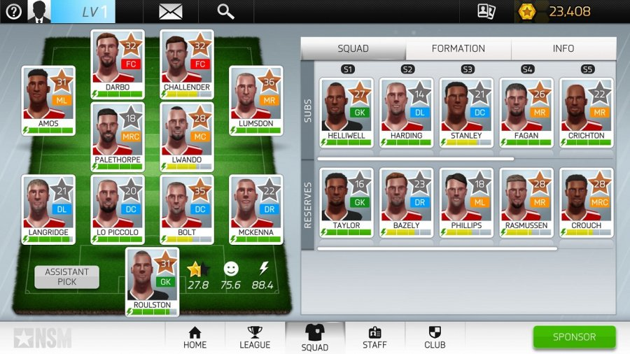 New Star Manager Review - Screenshot 3 of 4