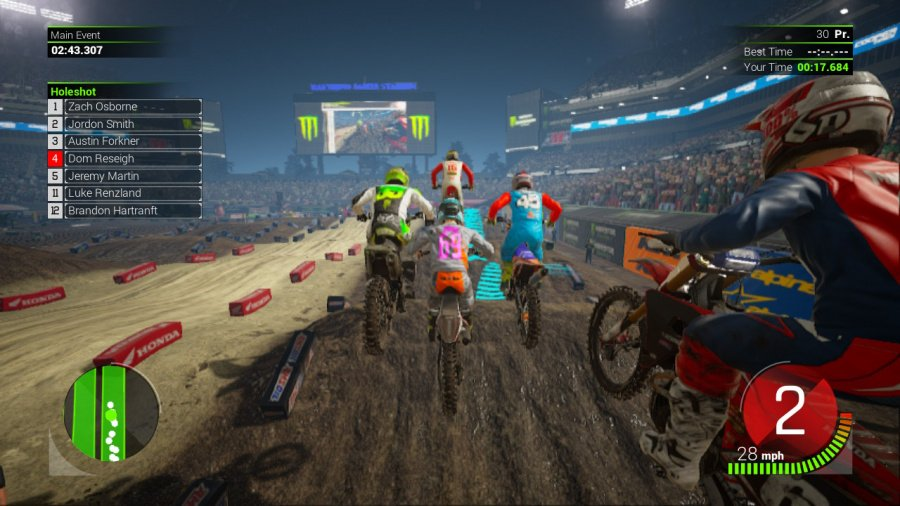 Monster Energy Supercross - The Official Videogame 2 Review - Screenshot 2 of 4