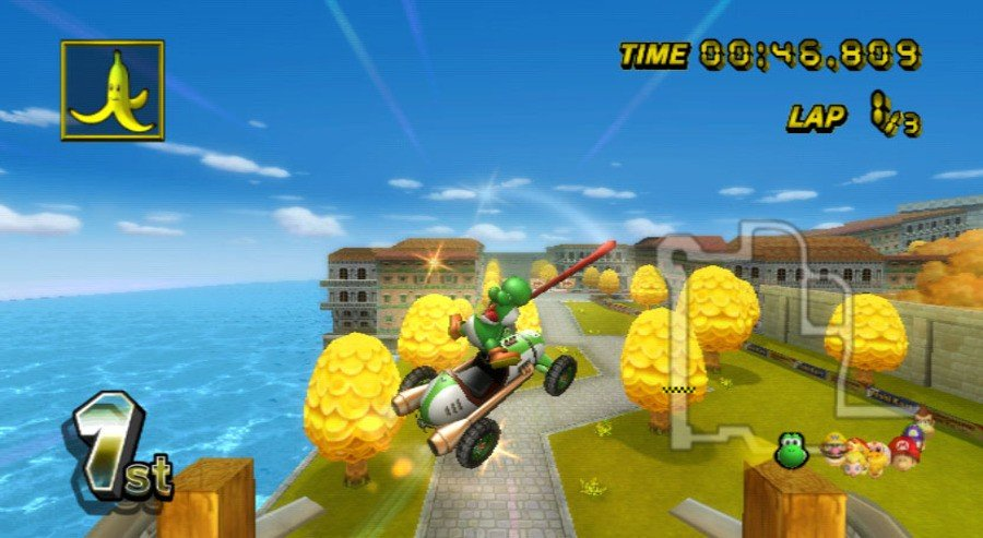 Mario Kart Wii Screenshot