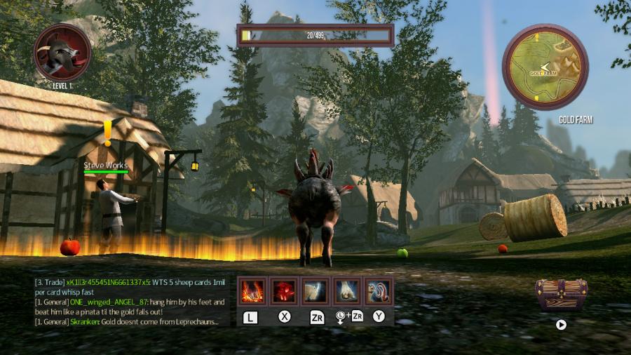Goat Simulator: The GOATY Review - Screenshot 3 of 4