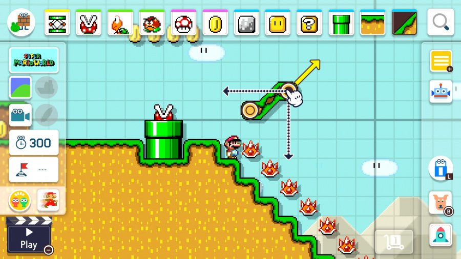 Super Mario Maker 2 Review - Screenshot 1 of 9