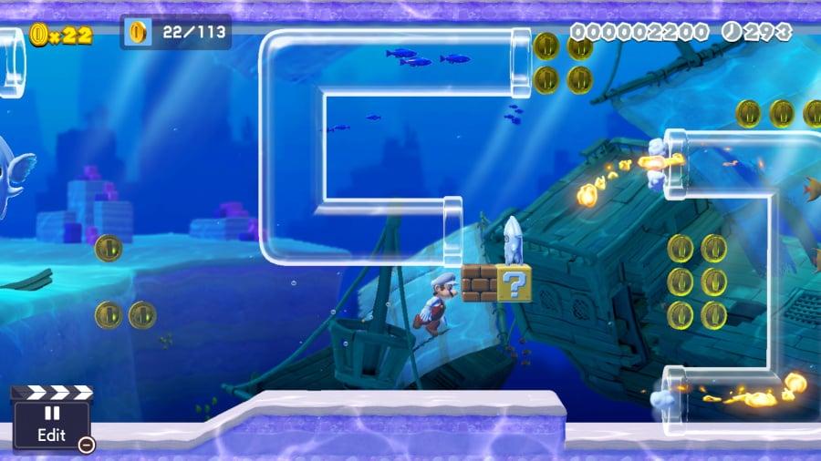 Super Mario Maker 2 Review - Screenshot 1 of 7