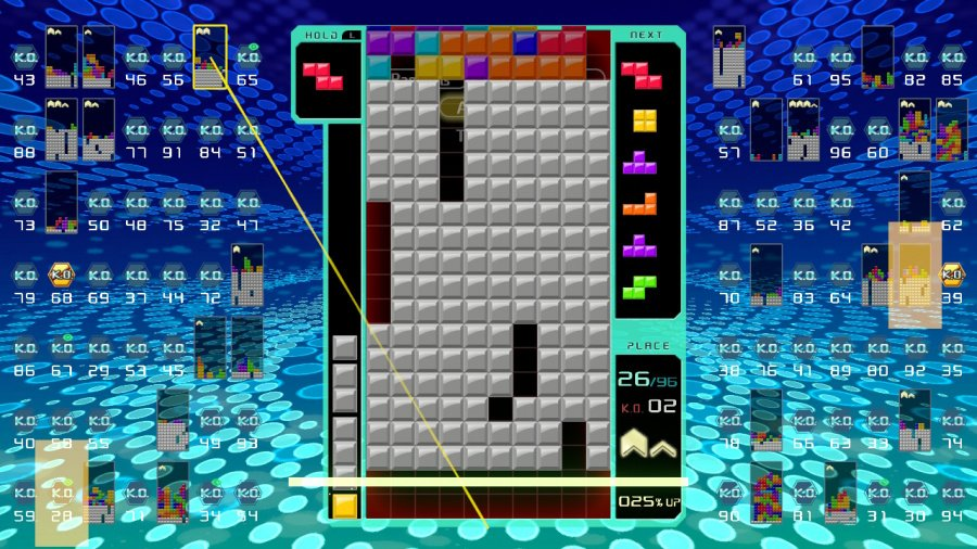 Tetris 99 Review - Screenshot 3 of 5