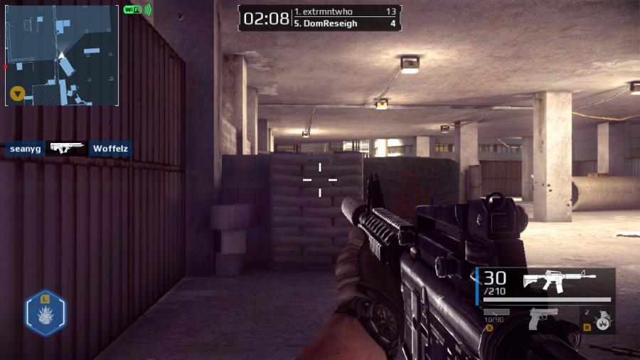 Modern Combat Blackout Review - Screenshot 1 of 4