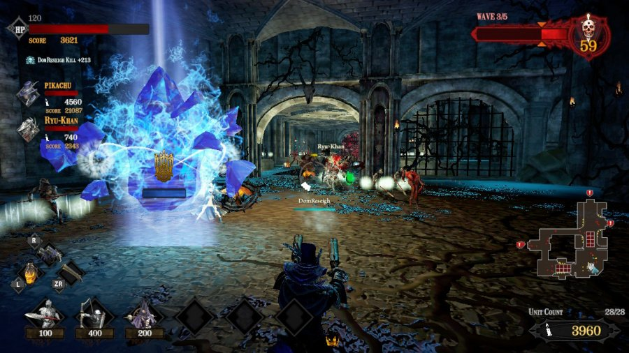 Hell Warders Review - Screenshot 2 of 4