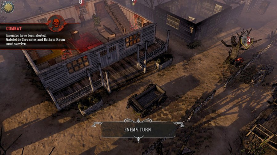 Hard West Review - Screenshot 1 of 3