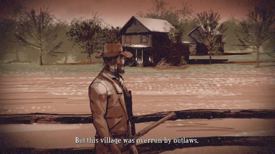 Hard West Review - Screenshot 1 of 4
