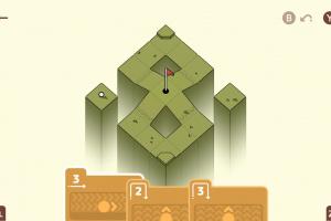 Golf Peaks Screenshot