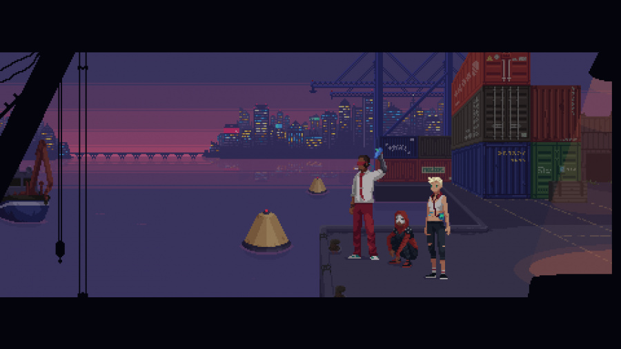 The Red Strings Club Review - Screenshot 2 of 5