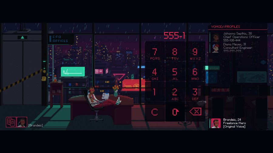 The Red Strings Club Review - Screenshot 4 of 5