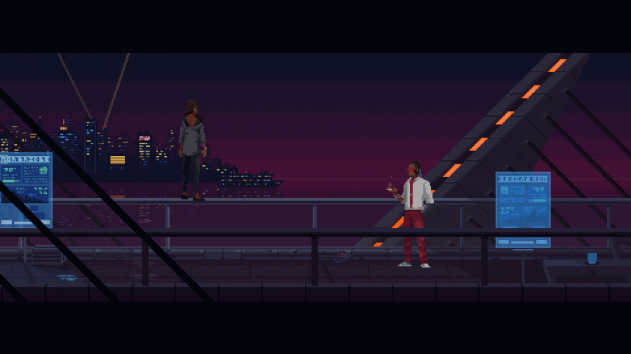 The Red Strings Club Review - Screenshot 3 of 4