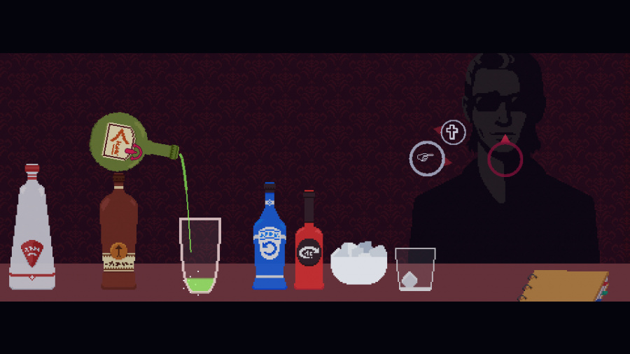 The Red Strings Club Review - Screenshot 3 of 5