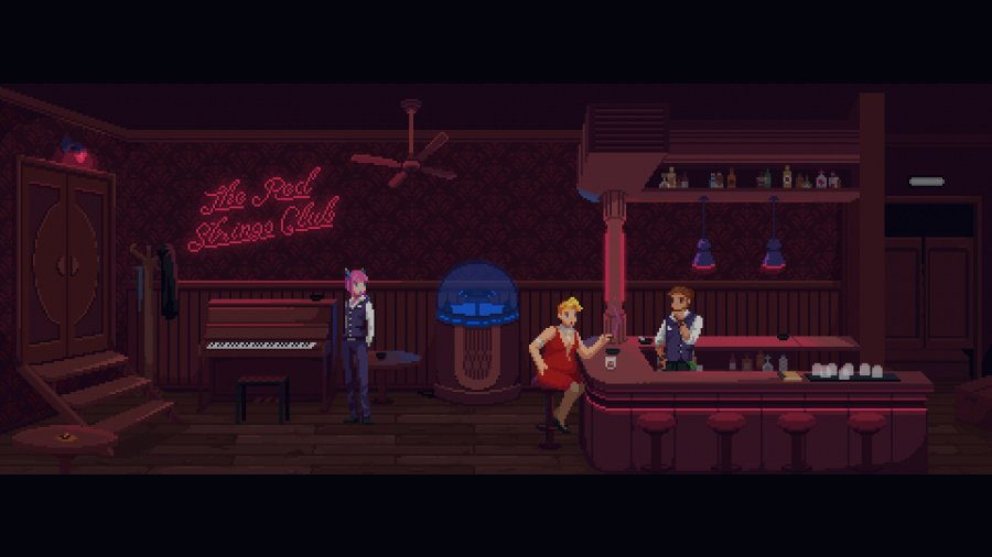 The Red Strings Club Review - Screenshot 5 of 5