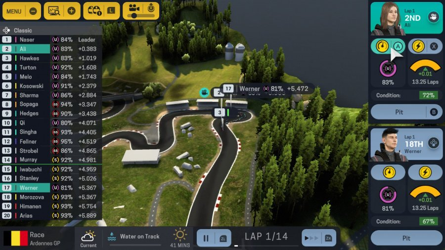 Motorsport Manager for Nintendo Switch Review - Screenshot 2 of 4