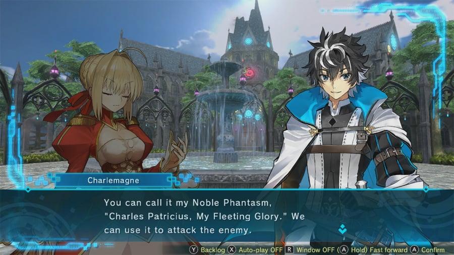 Fate/Extella Link Review - Screenshot 1 of 6