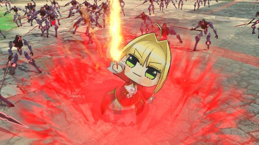 Fate/Extella Link Review - Screenshot 3 of 6
