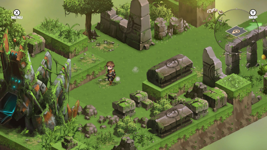 Azure Saga: Pathfinder Deluxe Edition Review - Screenshot 2 of 4