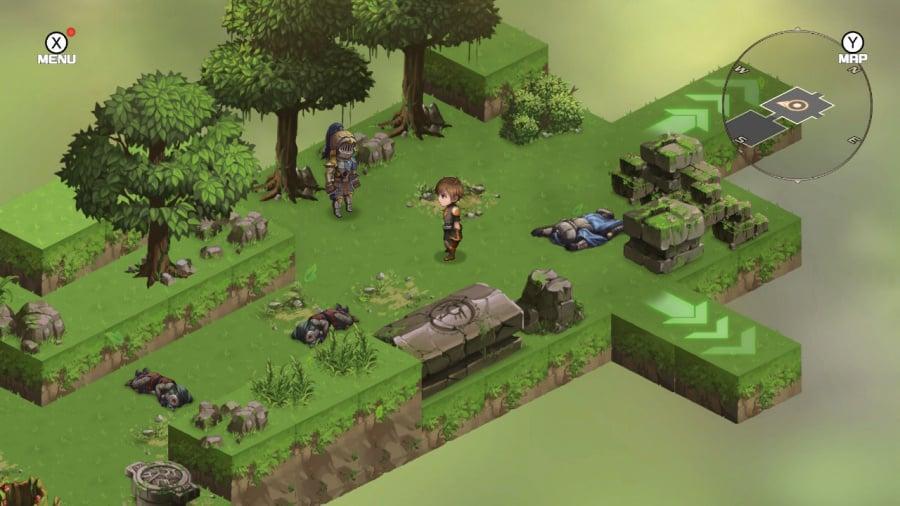 Azure Saga: Pathfinder Deluxe Edition Review - Screenshot 1 of 4