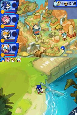 Sonic Chronicles: The Dark Brotherhood Screenshot