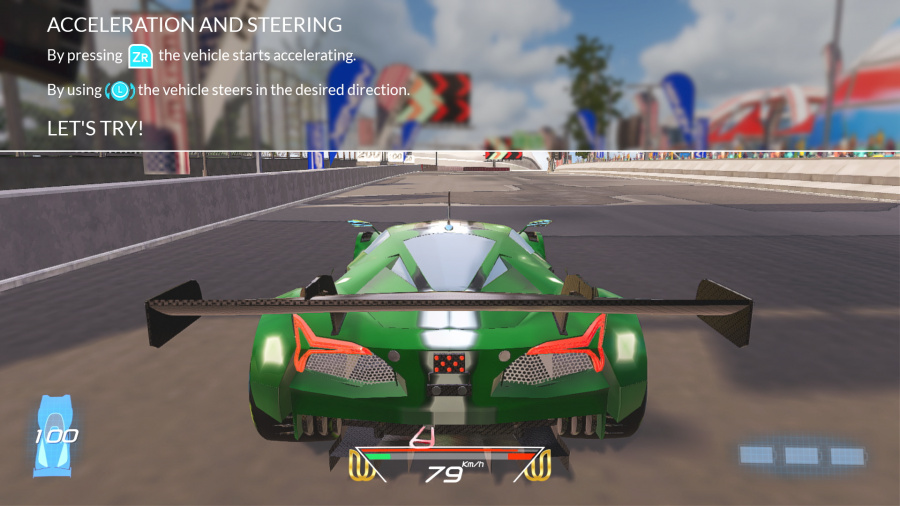 Xenon Racer Review - Screenshot 1 of 3