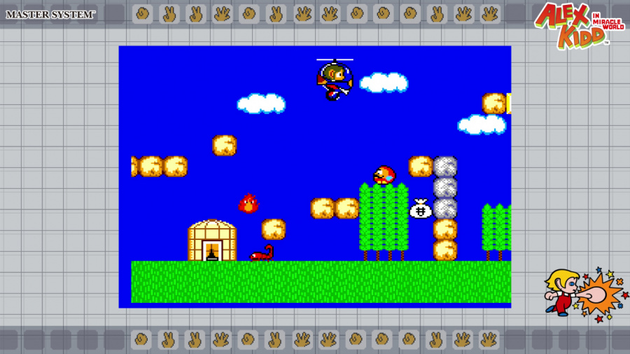 SEGA AGES Alex Kidd In Miracle World Review - Screenshot 4 of 5