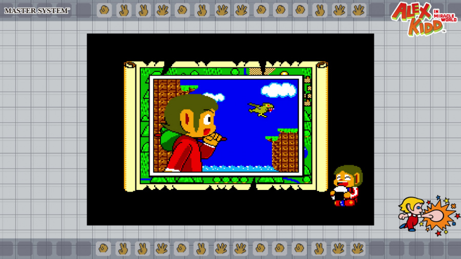SEGA AGES Alex Kidd In Miracle World Review - Screenshot 1 of 5