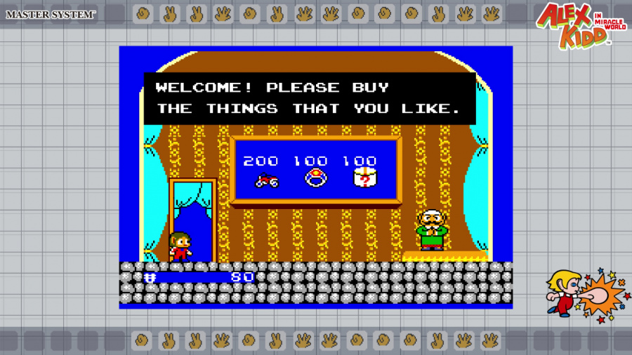 SEGA AGES Alex Kidd In Miracle World Review - Screenshot 3 of 5