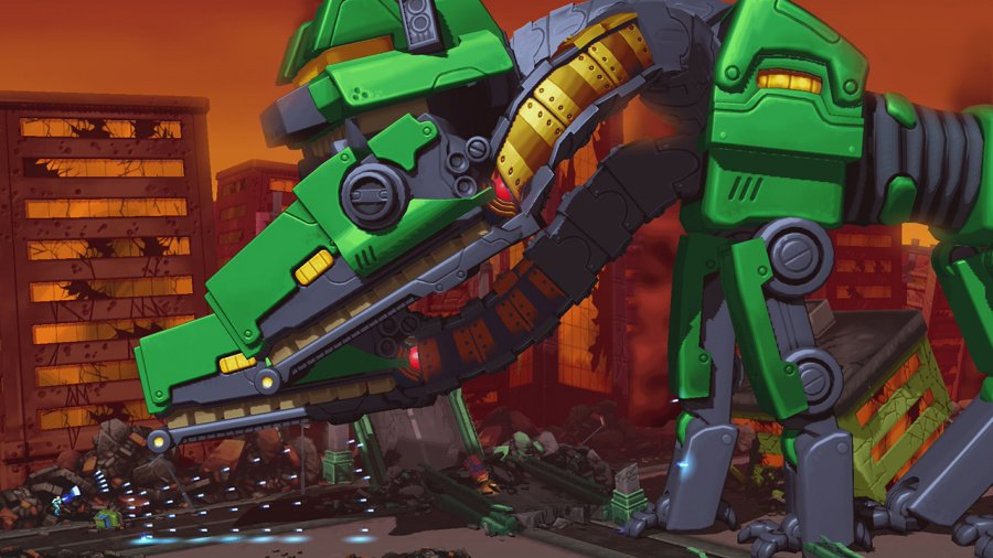 Mechstermination Force Review - Screenshot 1 of 4