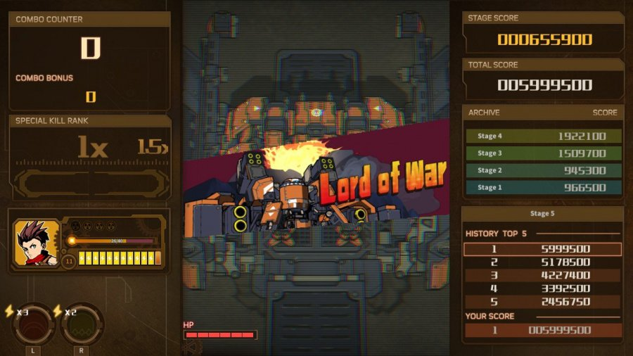 AngerForce: Reloaded Review - Screenshot 1 of 5