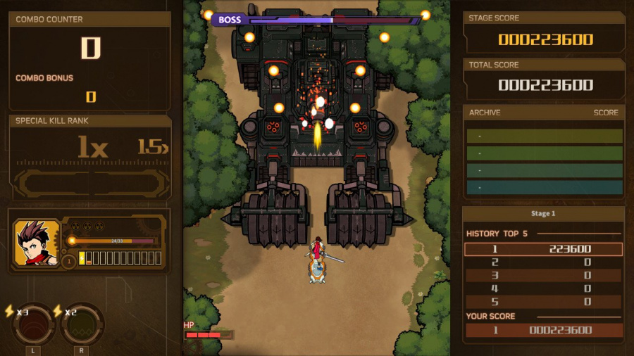 AngerForce: Reloaded Review - Screenshot 2 of 6